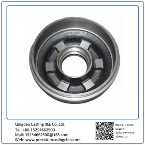 ForgedDuctile Iron Auto Parts Clay Sand Casting Engine Cap