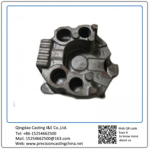 ForgedDuctile Iron Investment Casting Auto Parts Engine Cover