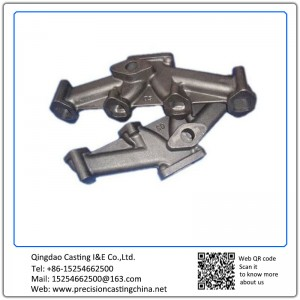 ForgedMild Steel Auto Molding Line Parts Investment Casting Automotive Support Bracket