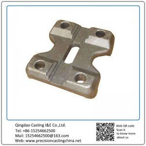 Forged Seat Block Machinery Part Carbon Steel Q345