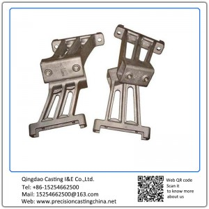 Forged Support Bracket Agricultural Machinery parts Cast Steel ZG35 65-35