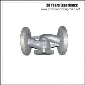 OEM Ductile Iron Valve Body Part Investment Casting