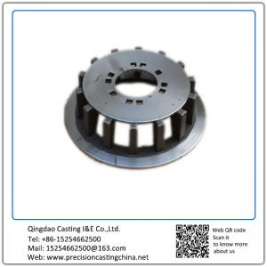 Hot Forged Grey Iron Wheel Carrier Wheel Frame with Flanges