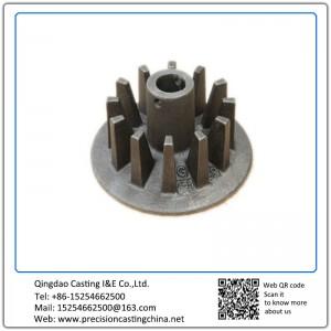 Hot Forged Mild Steel Wheel with Teeth
