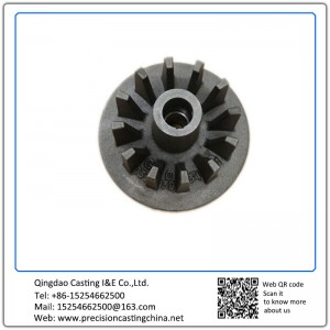 Hot Forging Wheel with Teeth Ductile Iron