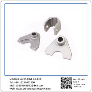 OEM Hot Forged  Train Parts Soluble Glass Casting High Manganese Steel