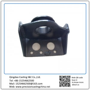 Welding Part Black Coating Ductile Iron