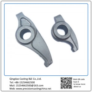 Automotive Support Bracket Resin Coated Sand Casting Cast Nodular Iron