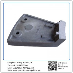 Carbon Steel Lining Plate Mine Machine Parts Resin Sand Casting
