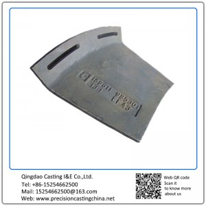 Carbon Steel Metso Crusher Protection Plate XT710 Resin-bonded Sand Casting