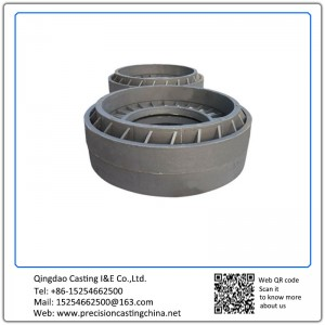Cast Iron Motor Pedestal Clay Sand Casting Spare parts