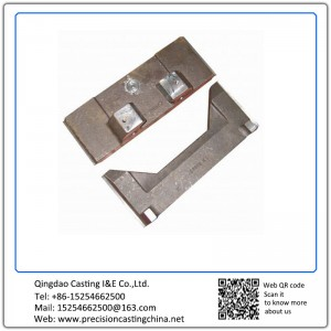 Cast Nodular Iron Components of Forklift Resin-bonded Sand Casting