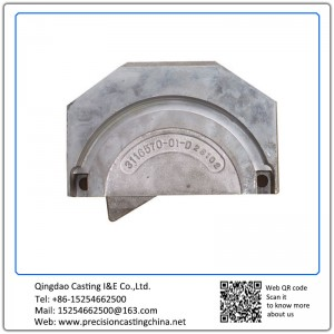 Cast Nodular Iron Resin Coated Sand Casting Crane Spare Parts