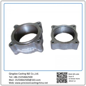 Cast Nodular Iron Vessel Break Housing Basement Resin Sand Casting