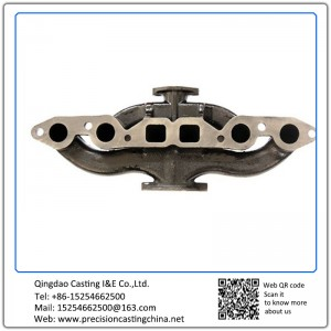Casting Iron Pump Housing Exhaust Pipe