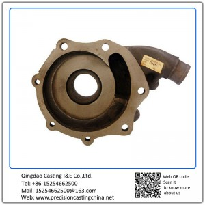 Casting Iron Pump Housing For Vehicle Concrete Pump Spare Parts