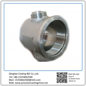 Customized Ball Valve Body Investment Casting Stainless Steel