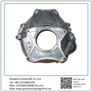 Customized Bell Housing Mild Steel Waterglass Casting