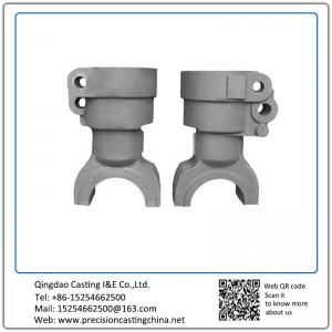 Customized Brake Connector Castings Class 30 Gray Iron 420 lbs Agricultural Machinery Parts