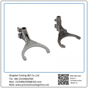 Customized Carbon Steel Automobile Clutch Fork Precision Casting