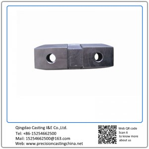 Customized Carbon Steel Construction Spare Parts Solid Investment Casting