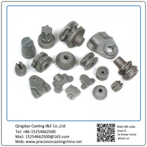 Customized Carbon Steel Crane Casting Spare Parts