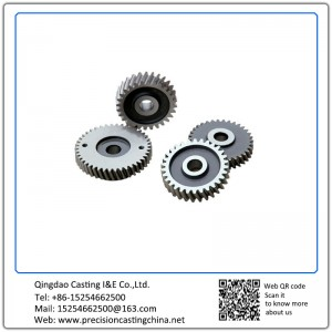 Customized Carbon Steel Gear Casting Investment Casting
