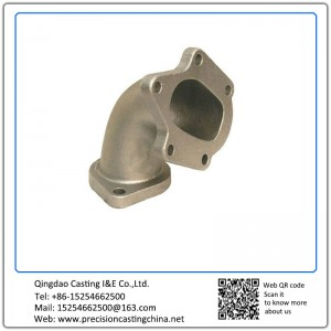 Customized Carbon Steel Manifold Casting Shell Mould Casting