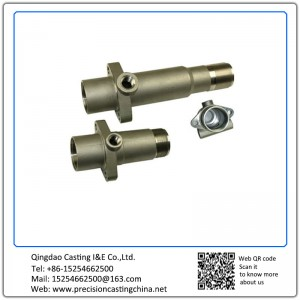 Customized Carbon Steel Metal Casting Pipe Fittings