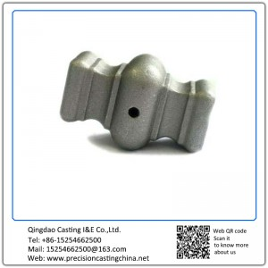 Customized Carbon Steel Precision Casting Lattice Decoration Spare Part