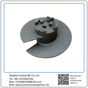 Customized Carbon Steel Soil Auger Soluble Glass Casting Agricultural Machinery Parts