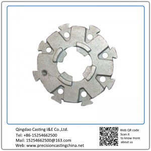 Customized Carbon Steel Tension Wheel Casting Zinc Plated Resin-bonded Sand Casting