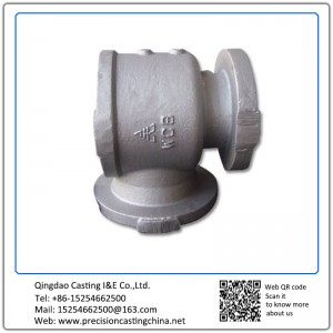 Customized Carbon Steel Valve & Pipe Parts Investment Casting Concrete Pump Spare Parts