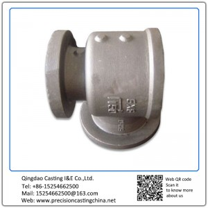 Customized Carbon Steel Valve & Pipe Parts Precision Casting Concrete Pump Pipe Spare Parts