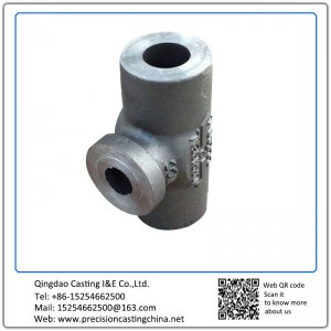 Customized Carbon Steel Valve & Pipe Parts Precoated Sand Casting Water Pump Spare Parts Components