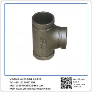 Customized Carbon Steel Valve & Pipe Parts Silica Sol Lost Wax Investment Casting Scaffold Spare Parts