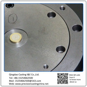 Customized Cast Iron Machine Parts With Threaded Holes