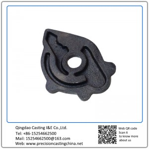Customized Cast Nodular Iron Shell Mould Casting Crane Parts
