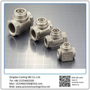Customized Cast Nodular Iron Steam Valve Parts Waterglass Casting