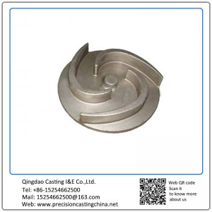 Customized Casting Impeller Alloy Steel Precoated Sand Casting