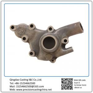 Customized Casting Iron Pump Body Concrete Pump Spare Parts