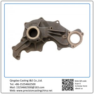 Customized Casting Iron Pump Body Water Pump Spare Parts Components