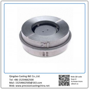 Customized Check Valve with Investment Casting Process Various Materials are Also Available