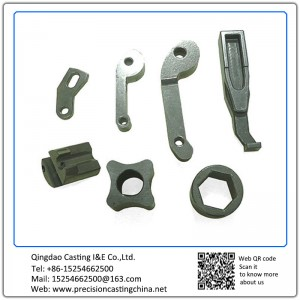 Customized Clamp Arm Spherical Cast Iron Precision Casting