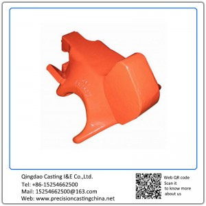 Customized Components of CAF High Speed Trains Clay Sand Casting Carbon Steel