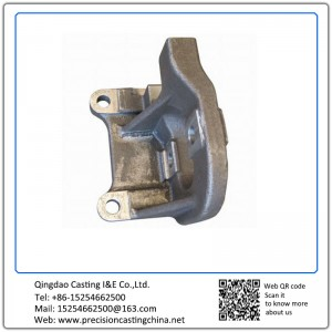 Customized Components of CAF High Speed Trains Resin Sand Casting Ductile Iron
