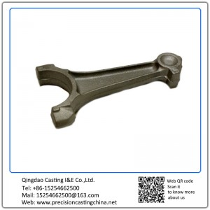 Customized Connect Rod Nodular Iron Investment Casting Automotive Support Bracket Clutch Fork