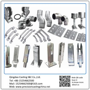 Customized Construction Hardware Stainless Steel Fittings