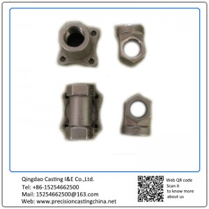 Customized Construction part lost wax casting