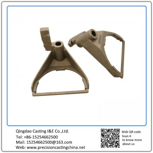Customized Copper Alloy Automotive Support Bracket Precision Casting